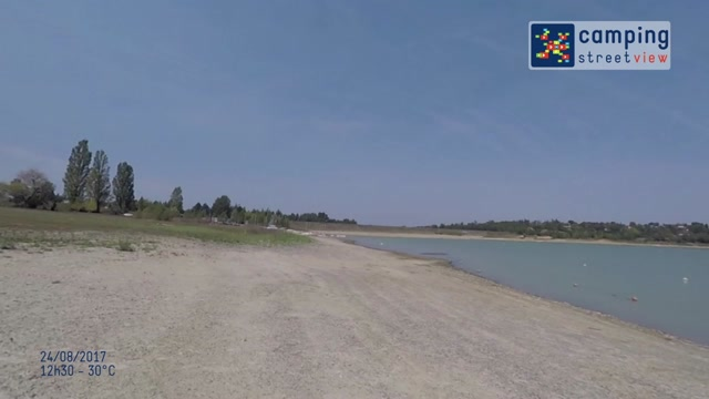 Camping-Lac-de-Thoux-St-Cricq THOUX Occitanie France.mov